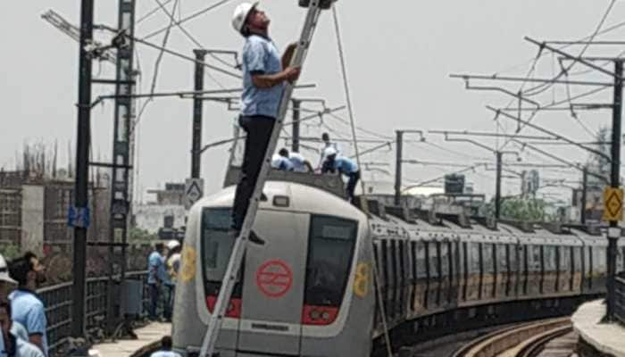 Delhi Metro services briefly affected on Red Line due to minor fire