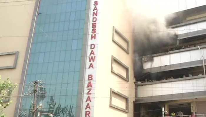 Maharashtra: Fire breaks out in Nagpur building, no injuries reported