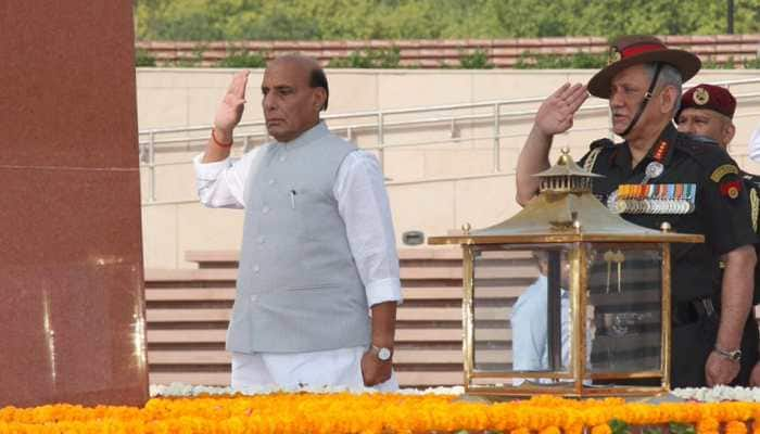 Look forward to meeting troops in Siachen: Rajnath Singh in J&K for first visit as Defence Minister