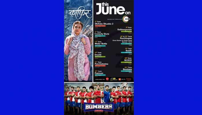 ZEE5 announces a power-packed June