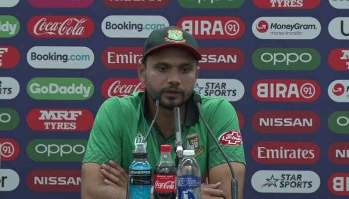 ICC World Cup 2019: We are concentrating on our game, let people talk, says Mashrafe Mortaza