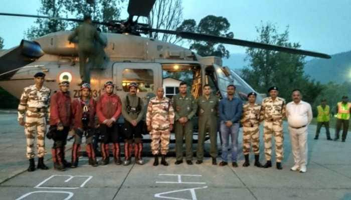 Four ITBP trekkers, five IAF personnel join search for tourists missing in Nanda Devi