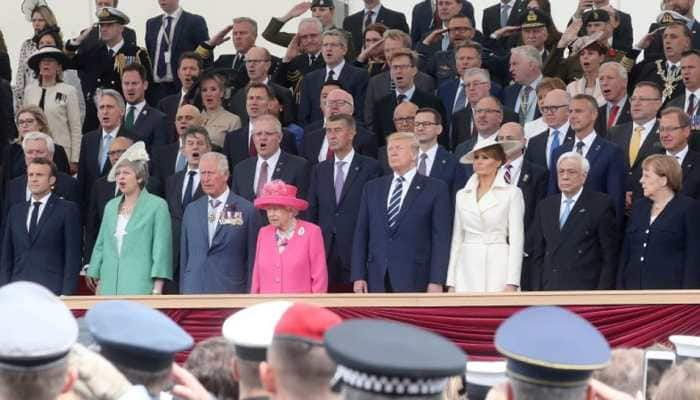 'Thank You' - Queen Elizabeth and world leaders pay tribute D-Day veterans