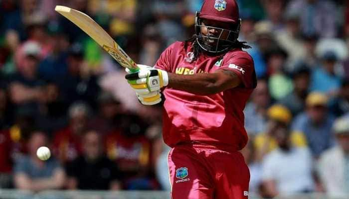 West Indies opener Chris Gayle survives twin reviews in an over