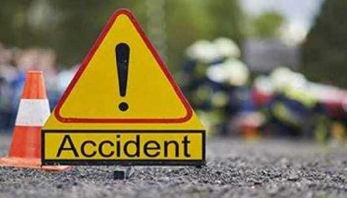 Maharashtra: 11 injured as bus catches fire on colliding with truck