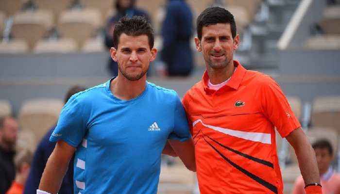 Novak Djokovic vs Dominic Thiem French Open semi-final to resume on Saturday