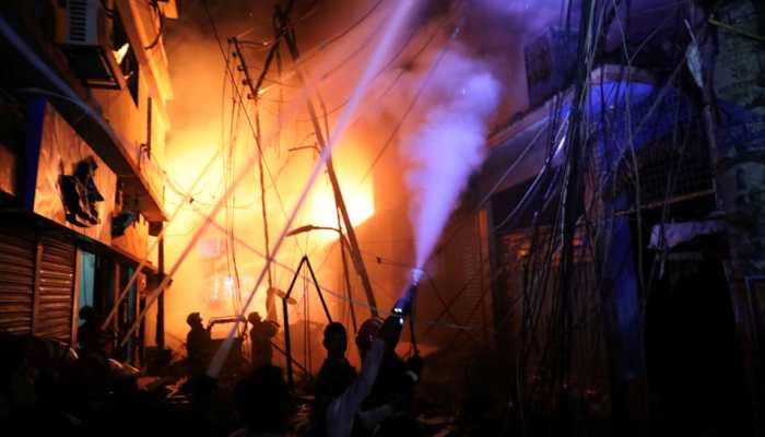Massive fire engulfs godown near Howrah's Jagannath Ghat