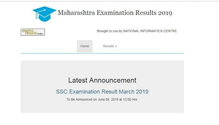 Maharashtra SSC Result 2019: MSBSHSE Class 10th Results 2019 today at 1 pm at mahresult.nic.in