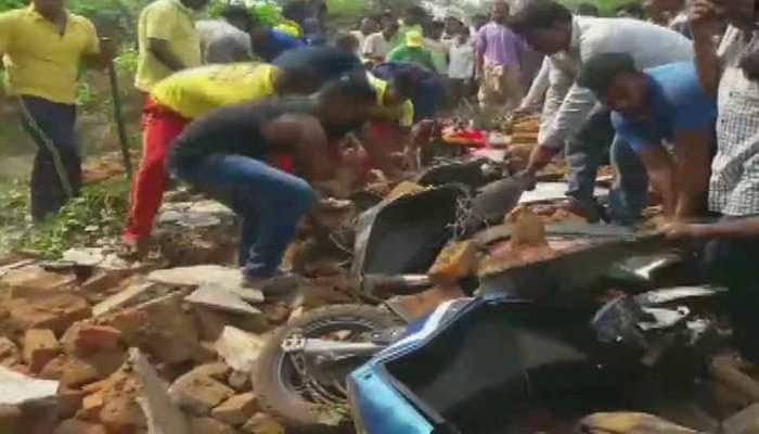 4 killed, 10 injured as wall collapses in Odisha