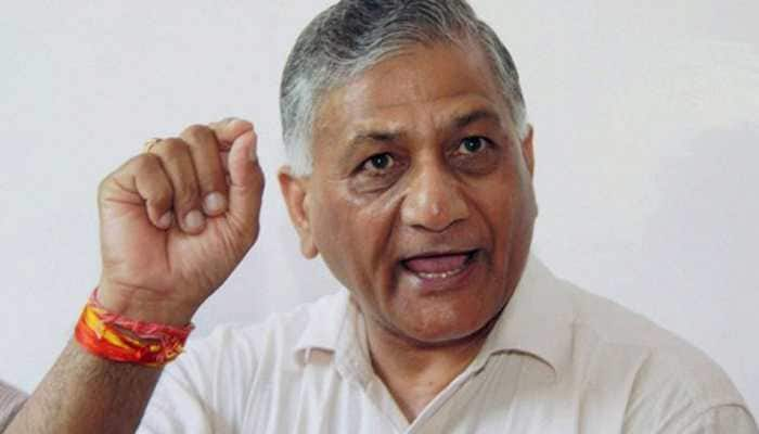 Govt, defence forces working tirelessly to locate missing A-32 aircraft: Union Minister VK Singh