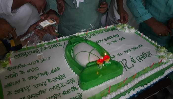 RJD workers throng RIMS in Ranchi to celebrate Lalu's birthday