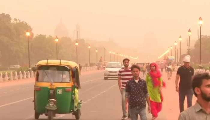 Flight operations suspended at IGI Airport after severe dust storm hits Delhi NCR