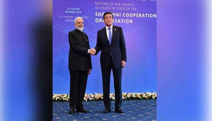 PM Modi meets Kyrgyzstan President Jeenbekov ahead of SCO Summit