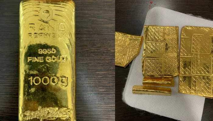 DRI seizes gold bars valued at Rs 10.56 crore at Mumbai airport