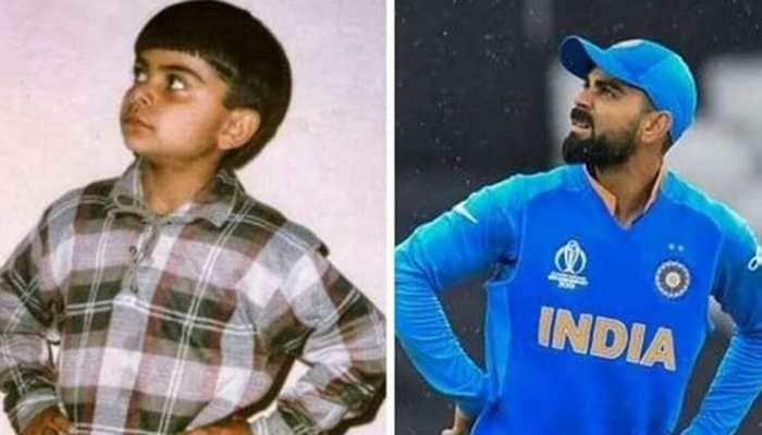 After an impressive win over Pakistan, Virat Kohli shares childhood picture    Cricket News   Zee News