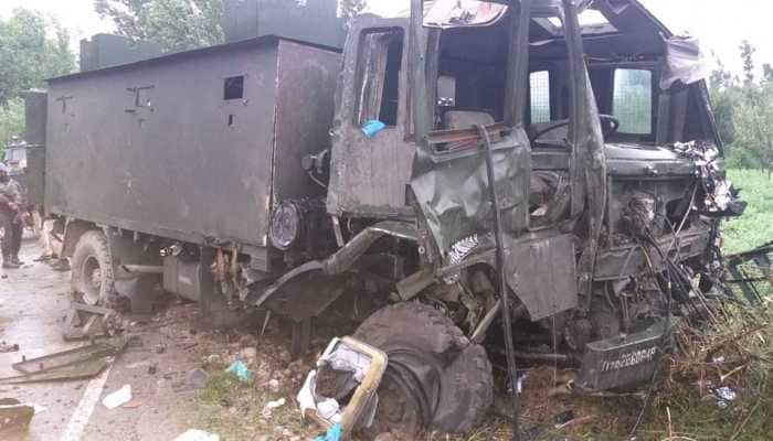 J&K: 5 army jawans injured after terrorists target vehicle with IED blast in Pulwama