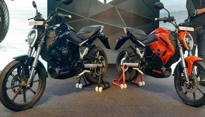Revolt Motors unveils India's first AI enabled electric bike RV 400