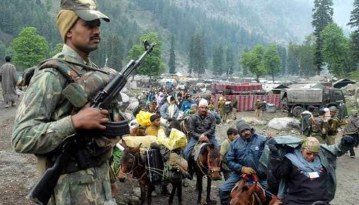 Security for Amarnath Yatra scaled up; barcode slips for pilgrims, more RFID tags on vehicles