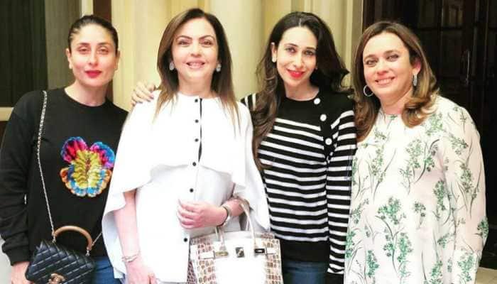 Kareena and Karisma Kapoor spend 'wonderful afternoon' with Nita Ambani in London