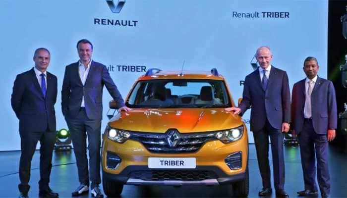 Renault Triber MPV makes global debut in India