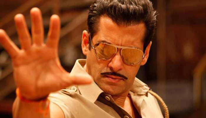 Salman Khan makes an impressive back flip into pool