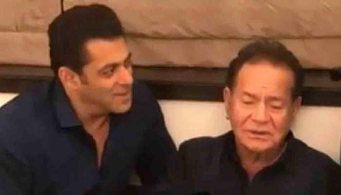 Salman Khan singing 'Suhaani Raat Dhal Chuki' with father Salim will melt your heart — Watch
