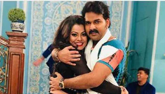 Bhojpuri actress Nidhi Jha shares pic with Pawan Singh, drops hint of new project