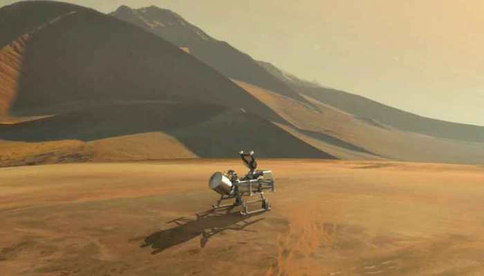 NASA to explore Saturn's moon Titan for signs of life, to send Dragonfly drone in 2026
