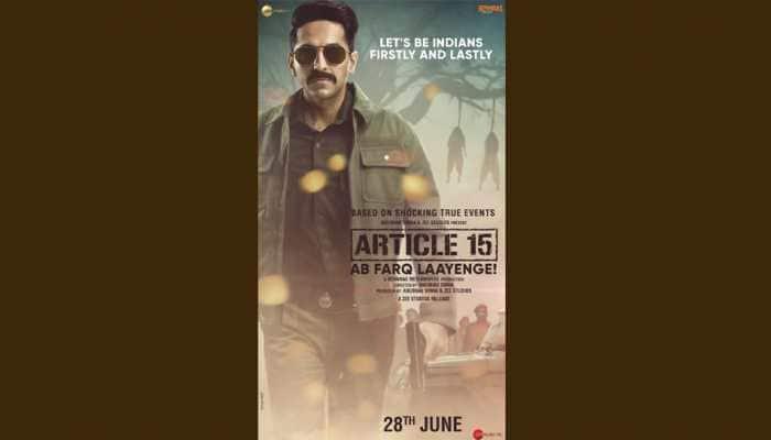 Ayushmann Khurrana's hard-hitting film Article 15 hits theatres today