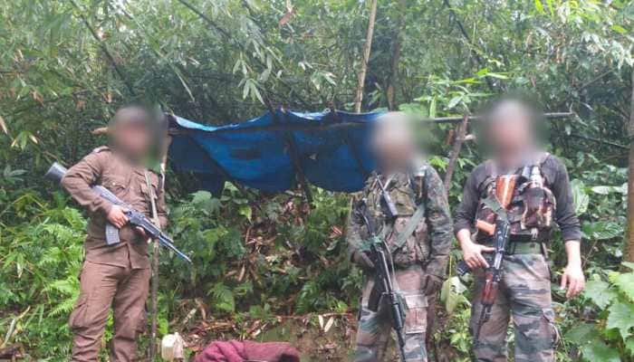 Two suspected hideouts of NSCN (I-M) destroyed in Nagaland, huge cache of arms recovered