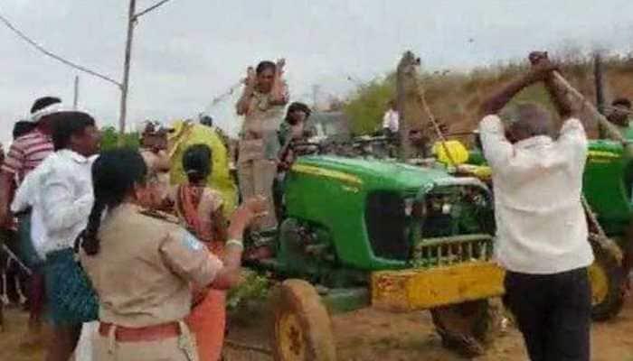 High on power: Ruling TRS men thrash lady forest officer