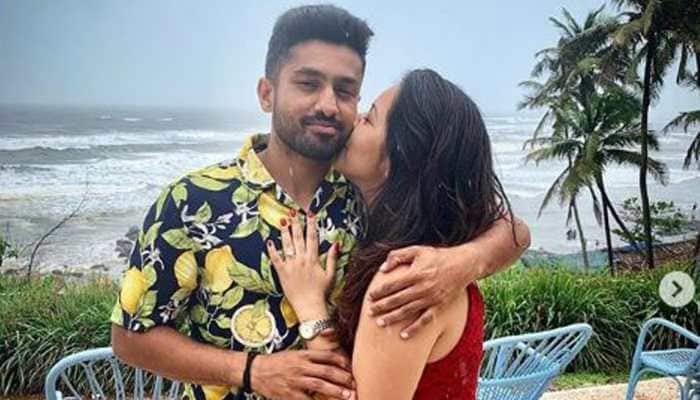 Karun Nair gets engaged to longtime girlfriend