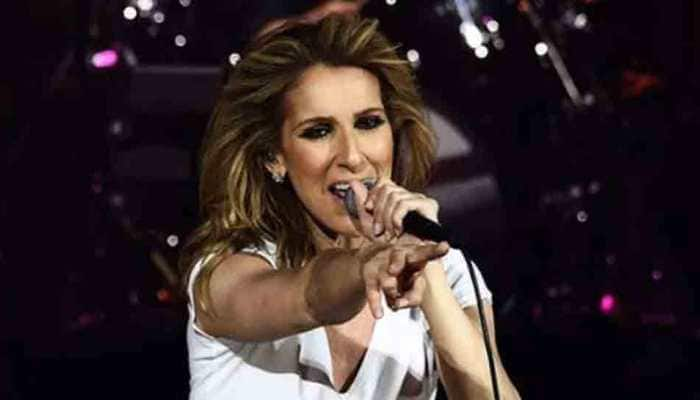 Celine Dion wins heart with iconic blue necklace from 'Titanic' at Paris Fashion Week