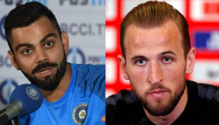 Wish Virat Kohli luck except for World Cup match against England: Harry Kane