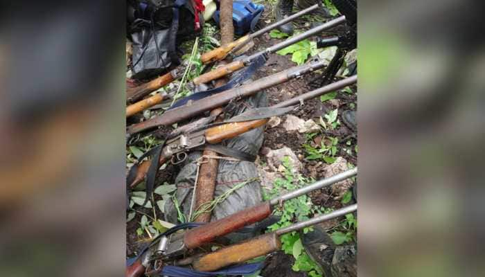 Chhattisgarh: 4 Naxals killed in encounter with police in Dhamtari, 7 weapons recovered
