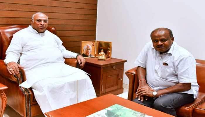 Mallikarjun Kharge blames BJP for political turmoil in Karnataka