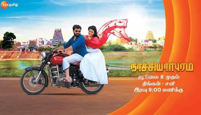 Real life couple Rachita-Dinesh pair up for Zee Tamil's 'Nachiyarpuram'