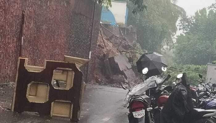 Wall collapses in Mumbai's Andheri East, woman trapped in debris rescued