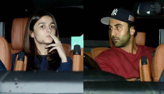 Ranbir Kapoor, Alia Bhatt spotted outside Luv Ranjan's residence. Is new film on cards?