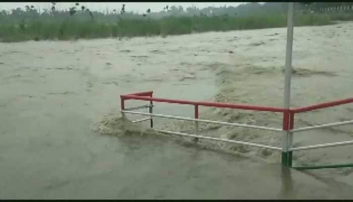 Ganga close to danger mark in Rishikesh as heavy rainfall lashes Uttarakhand