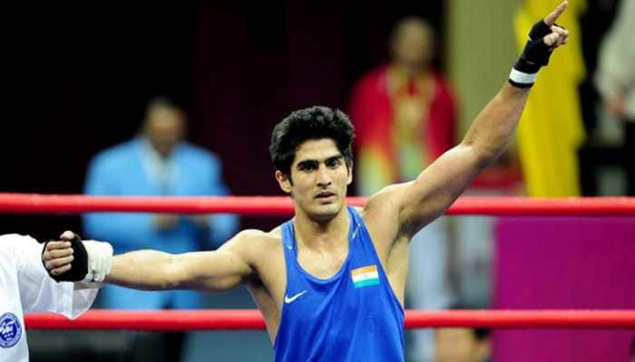 Victorious debut for Vijender Singh in USA