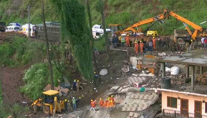 11 Army personnel among casualties in Solan building collapse, many still trapped