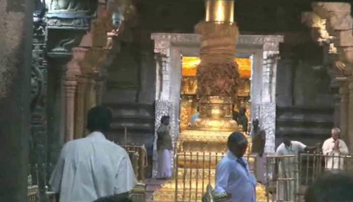 Cleansing rituals performed at Tirupati after lunar eclipse