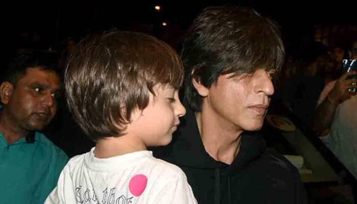 Shah Rukh Khan enjoys dinner outing with Gauri Khan, Aryan, Suhana and AbRam