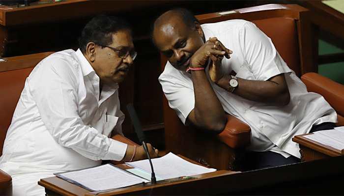 Karnataka Assembly numbers as CM Kumaraswamy gets ready for trust vote
