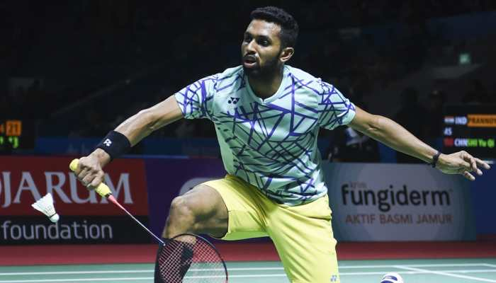 Shuttlers B Sai Praneeth and Prannoy Kumar crash out of Indonesia Open