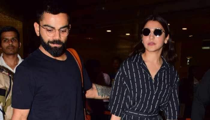 Virat Kohli returns to India with wife Anushka Sharma after World Cup exit - Pics