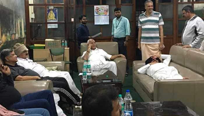 Karnataka CM HD Kumaraswamy told to prove majority on Friday, BJP MLAs camp inside assembly