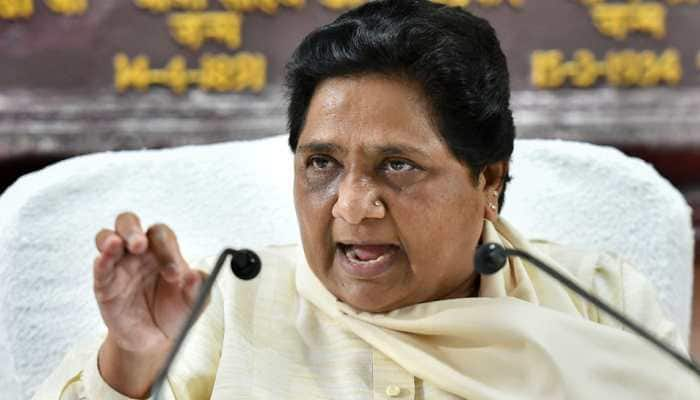 Brother's property attached, Mayawati accuses BJP of hatching 'conspiracy'