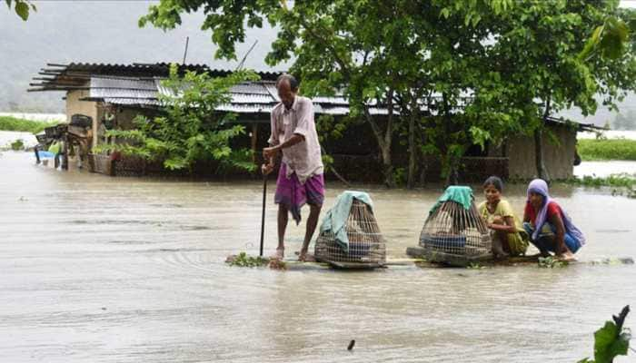 Death toll in Assam floods jumps to 62 as situation remains grim in 24 districts